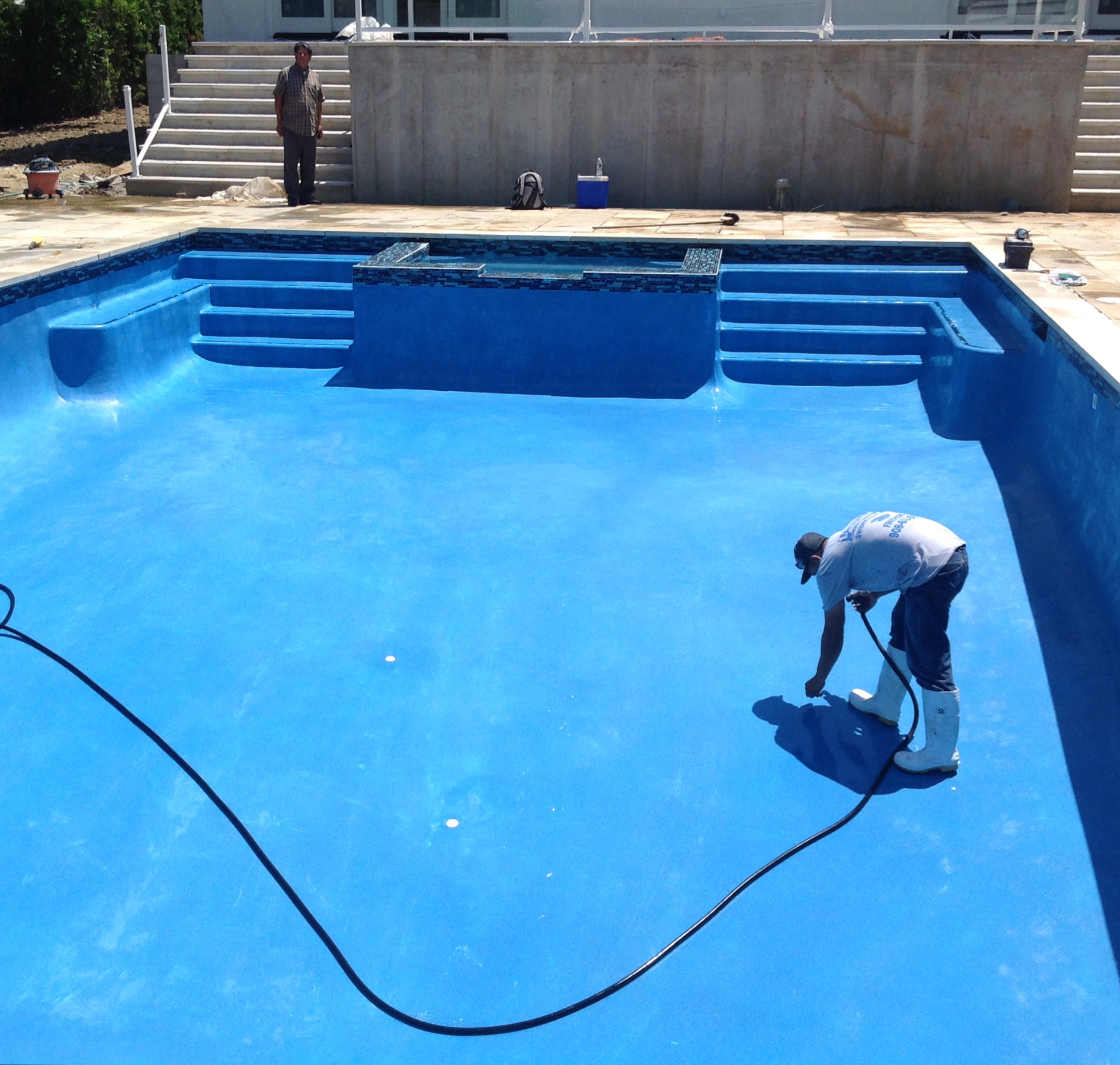 Krystalkrete Quartz Pool Finish Frog S Pool Renovation
