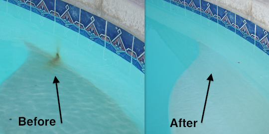 Acid Wash Pool Stain Removal Norristown Pa Frog S Pool