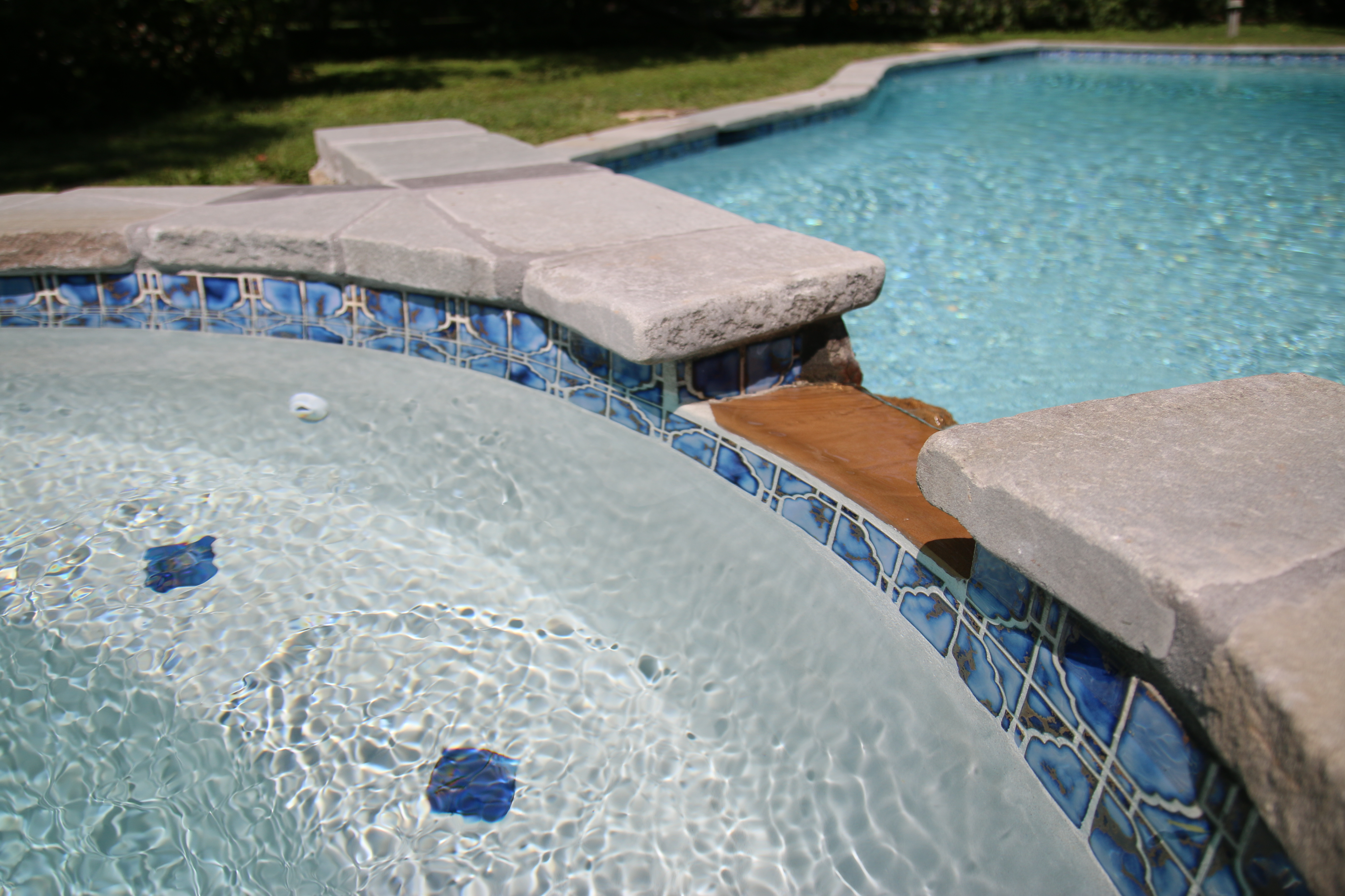 Doylestown pa pool plaster diamond brite oyster quartz for Pool plaster