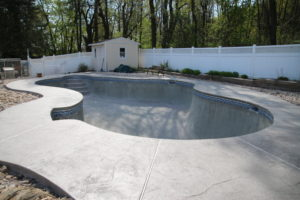 Swimming Pool Tile Installation Center Valley PA